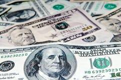 American  dollar bills Stock Photos