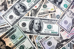 American Dollar bills Stock Photography
