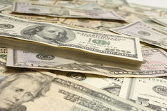 American Dollar Bills Stock Images