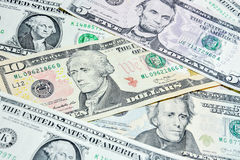American Dollar bills, use for background Stock Photos
