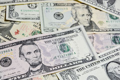 American Dollar bills, use for background Stock Photography
