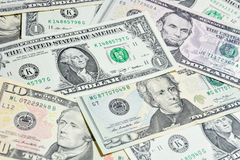American Dollar bills, use for background Royalty Free Stock Photo