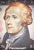 American dollar close-up Stock Photos