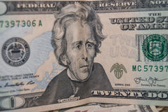 20 american dollar Stock Images
