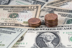 American dollar money background for business Royalty Free Stock Photography