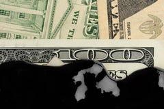 American dollar oil Stock Photo