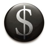 American dollar sign Royalty Free Stock Photography