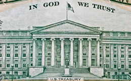 American dollar texture Stock Photography