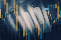 American Dollar Value Concept Royalty Free Stock Photos