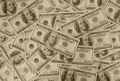 The american dollars Stock Photography