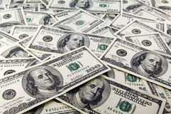 The American dollars Royalty Free Stock Photography