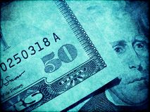American dollars abstract background Stock Images