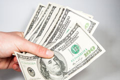 American Dollars as a currency Royalty Free Stock Photo
