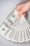American Dollars as a currency Stock Image