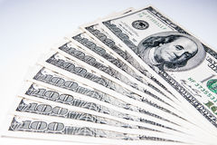 American Dollars as a currency Royalty Free Stock Photos