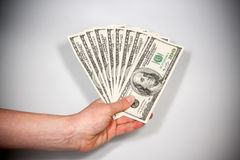 American dollars Royalty Free Stock Images