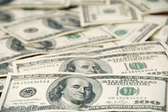 American dollars background Royalty Free Stock Images