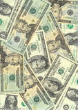 American dollars background Royalty Free Stock Photo