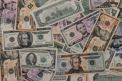 American dollars background Royalty Free Stock Image