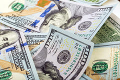 American dollars background Royalty Free Stock Photography