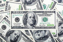 American dollars, a background Royalty Free Stock Photography