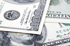 American dollars Stock Images