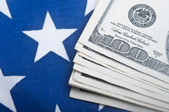 American dollars bills Royalty Free Stock Photography