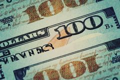 American dollars cash money. Background royalty free stock photos