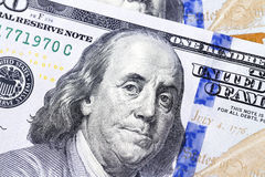 American dollars, close-up Royalty Free Stock Photos