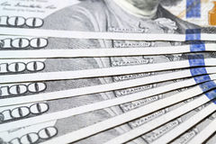 American dollars, close-up Stock Photography