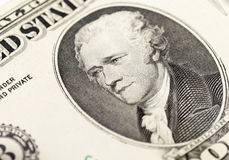 American dollars, close-up Royalty Free Stock Images