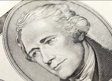 American dollars, close-up Royalty Free Stock Photography