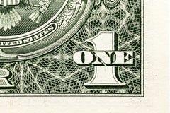 American dollars, close-up Royalty Free Stock Photos