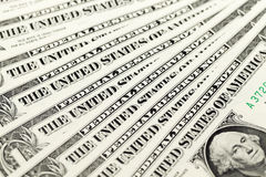 American dollars, close-up Stock Image