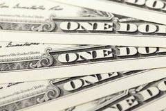 American dollars, close-up Stock Photos