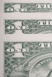 American dollars macro. selective focus Royalty Free Stock Photography