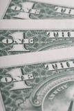 American dollars macro. selective focus Royalty Free Stock Image