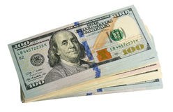 The american dollars Royalty Free Stock Photo
