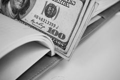 American dollars money Royalty Free Stock Photos