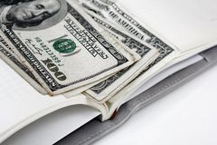 American dollars money Royalty Free Stock Photography