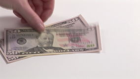 American Dollars stock video