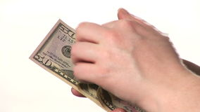 American Dollars stock footage