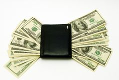 American Dollars in vallet Royalty Free Stock Image