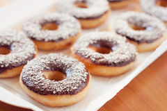 American donuts Royalty Free Stock Photography