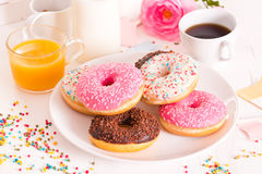 American donuts. Royalty Free Stock Image