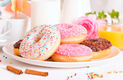 American donuts. Royalty Free Stock Photography