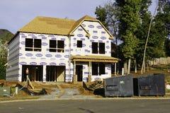 American Dream - Building A New Home Stock Photos