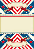 American dream flag Royalty Free Stock Image