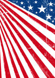 American dream flag Royalty Free Stock Photography