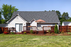 American Dream Home - Back Yard and Deck